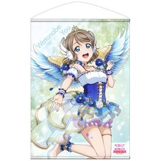 Love Live! Sunshine!! You Watanabe: Angel Edition B2-Size Wall Scroll