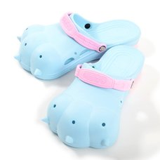 Akiba Sandals - Light Blue x Pink