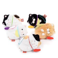 Hige Manjyu Sleeping Cat Plush Collection (Ball Chain)