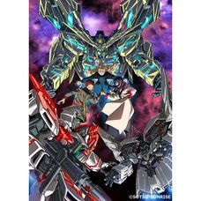 Mobile Suit Gundam Narrative Blu-ray Disc Limited Edition w/ Original Art Board