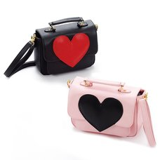 FLAPPER Heart Shoulder Bag