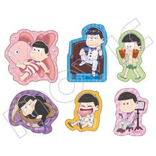 Osomatsu-san Flake Stickers