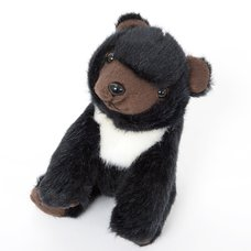 Japanese Animal Plush: Asian Black Bear