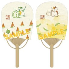 Natsume's Book of Friends Nyanko-sensei Mini Oval Fan