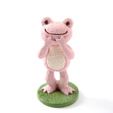 Pickles the Frog Craft Series Standing Frog Statues