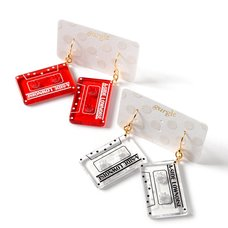 gargle Cassette Tape Earrings
