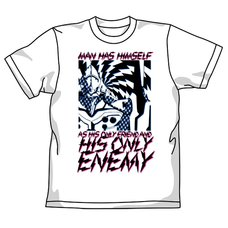 Rebuild of Evangelion Evangelion Unit-01 Enemy White T-Shirt