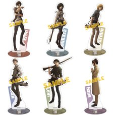 Attack on Titan Stand Pop Acrylic Character Stand Collection