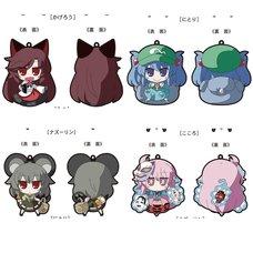 Touhou Project Akaneya Rubber Keychains Vol. 7