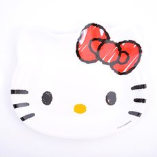 Hello Kitty Face Large Melamine Plate