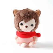 Wolf Children Yuki Mascot Keychain