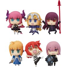 Learning with Manga! Fate/Grand Order Trading Figures Box Set (Re-run)