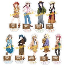Love Live! Sunshine!! Western Style Acrylic Stand Collection
