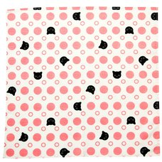 Polka Dot Cats Small Furoshiki Wrapping Cloth
