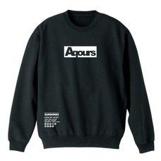 Love Live! Sunshine!! Aqours Black Sweatshirt