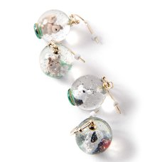 gargle Forest Snowglobe Earrings