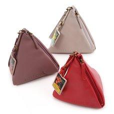 FLAPPER Triangle Tea Bag Clutch