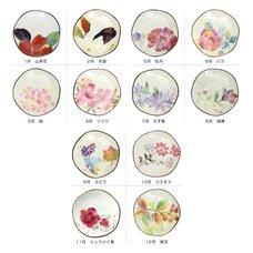 Hana Monogatari Mino Ware Small Plates