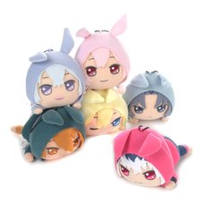 IDOLiSH 7 Kiradol Mascot Plush Collection: Rabbit Hoodie Pastel Color Ver.