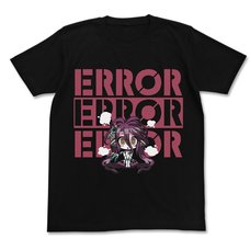 No Game No Life Zero Schwi Error Black T-Shirt