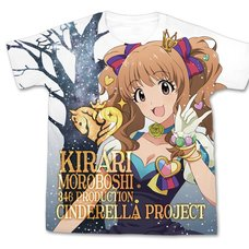 The Idolm@ster Cinderella Girls My First Star!! Kirari Moroboshi Graphic T-Shirt