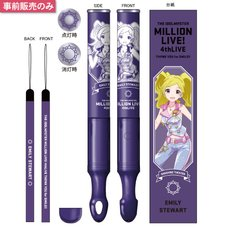 The Idolm@ster Million Live! 4th Live: Th@nk You for Smile!! Official Tube Light Stick - Emily Stewart Ver.