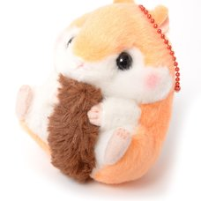 Coroham Coron Mori no Osanpo Hamster Plush Collection (Ball Chain)