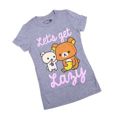 "Rilakkuma ""Let's Get Lazy"" T-Shirt"