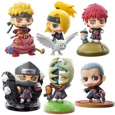 Petite Chara Land Naruto Shippuden Naruto & Akatsuki Vol. 1 Box Set (Re-run)