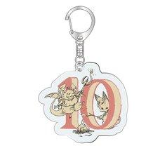 Granblue Fantasy Classic Vyrn October Birthday Acrylic Keychain