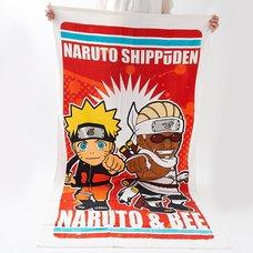 Naruto Big Bath Towel (Naruto & Killer B)