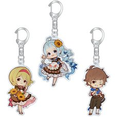 Granblue Fantasy Chibi Acrylic Keychain Collection