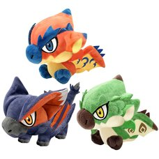 Monster Hunter Chibi Plush Collection Vol. 2