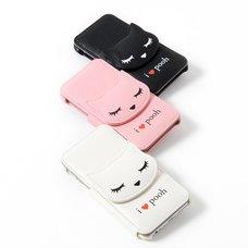 Osumashi Pooh-chan Leather iPhone 6 Cases