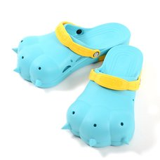 Akiba Sandals - Blue x Yellow