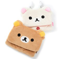 Rilakkuma Plush Pocket Pouches