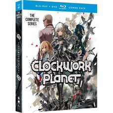 Clockwork Planet: The Complete Series Blu-ray/DVD Combo Pack