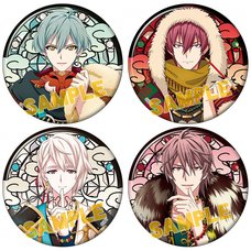 IDOLiSH 7 Ayakashi Mangekyo Karatogaokuri Kemonotsuki Badge Collection