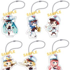 Vocaloid Chinese Marching Band Acrylic Charm Collection