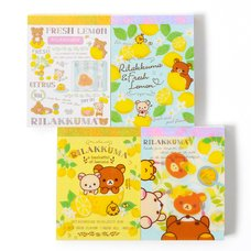 Rilakkuma A Basketful of Lemons Mini Memo Pads