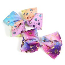 Unicorn Big Ribbon Clip