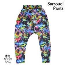 ACDC RAG Space Cat & Dinosaur Sarouel Pants