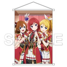 Love Live! General Magazine Vol. 2: Love Live! μ's Honoka & Eli & Maki B2-Size Tapestry