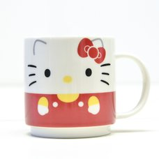 Hello Kitty Face Stacking Mug