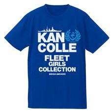 Kantai Collection -KanColle- Teitoku-Only Cobalt Blue Dry T-Shirt