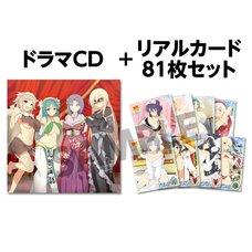 Senran Kagura New Wave G Burst Drama CD & Card Set