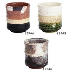Elegant Mino Ware Teacups