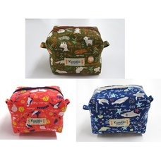 Kusukko Zukan Mini Caramel Pouch Series