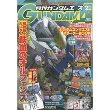 Monthly Gundam Ace February 2016
