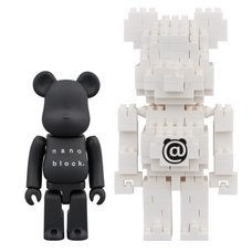 BE@RBRICK x Nanoblock 2-Pack Set B